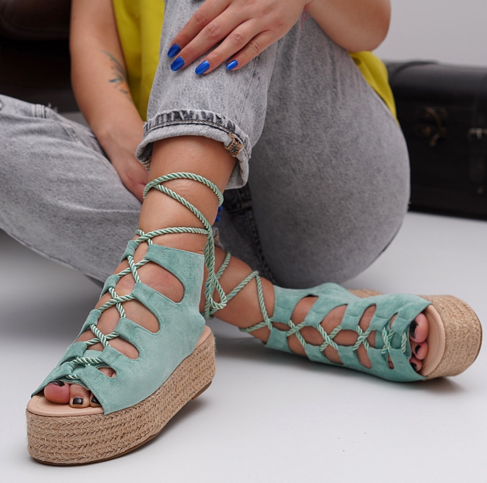 Sandale cu platforma dama SB1533B