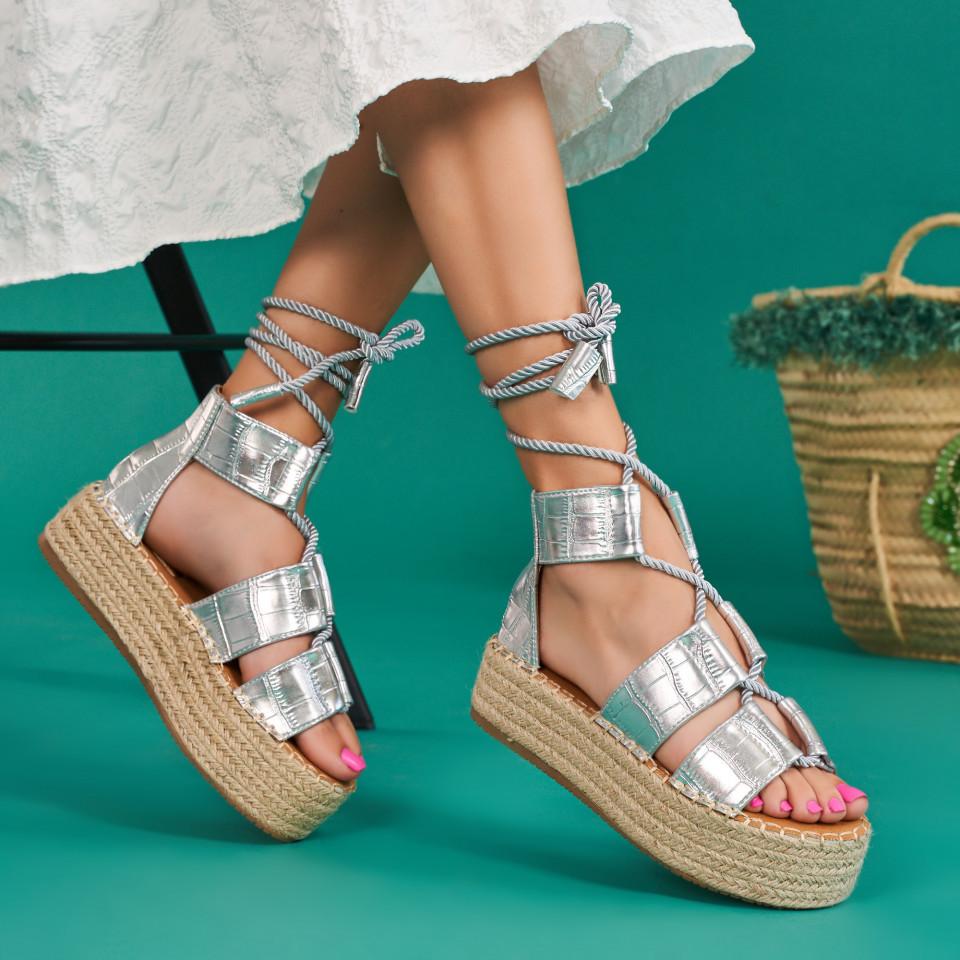 Sandale cu platforma dama SB1637B