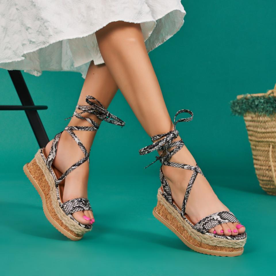Sandale cu platforma dama SB1667B