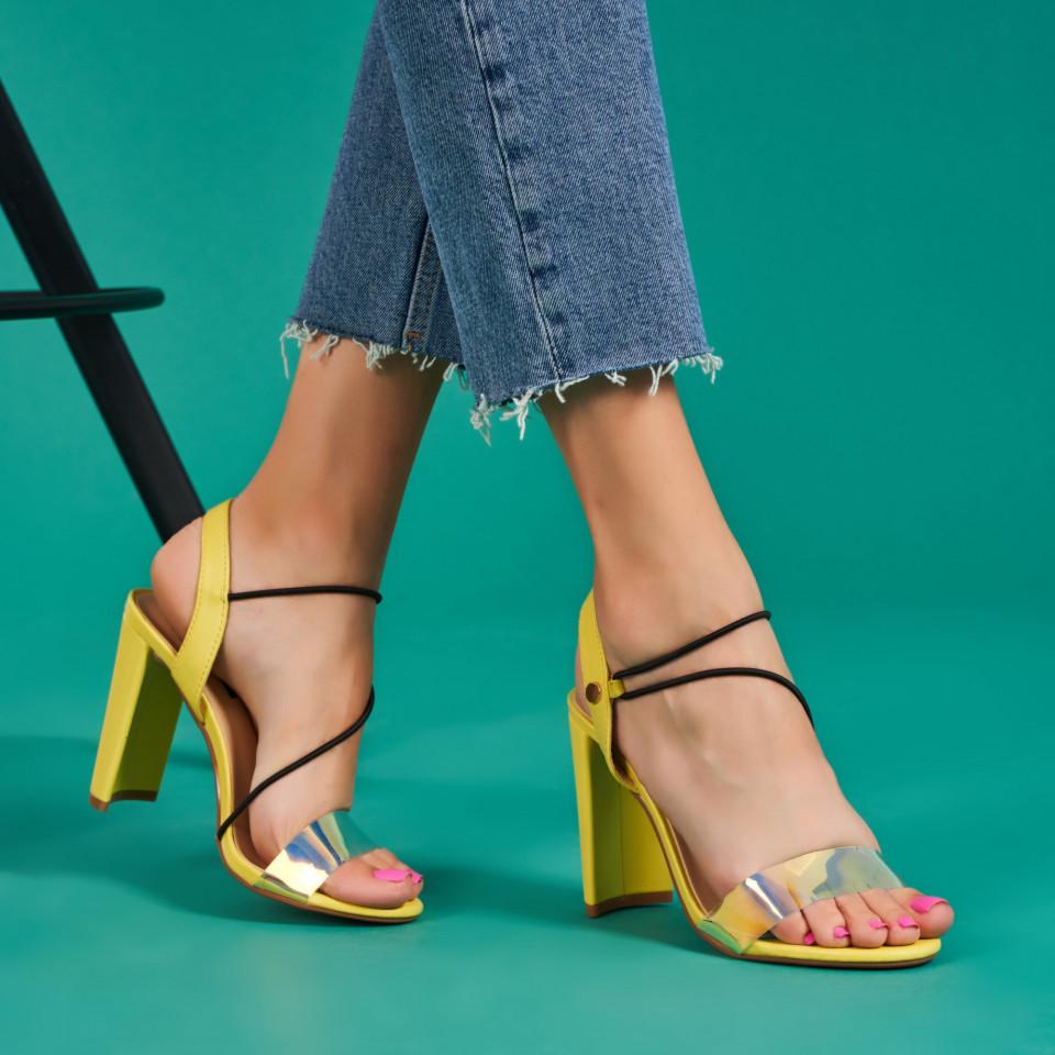 Sandale cu toc dama SB1286B