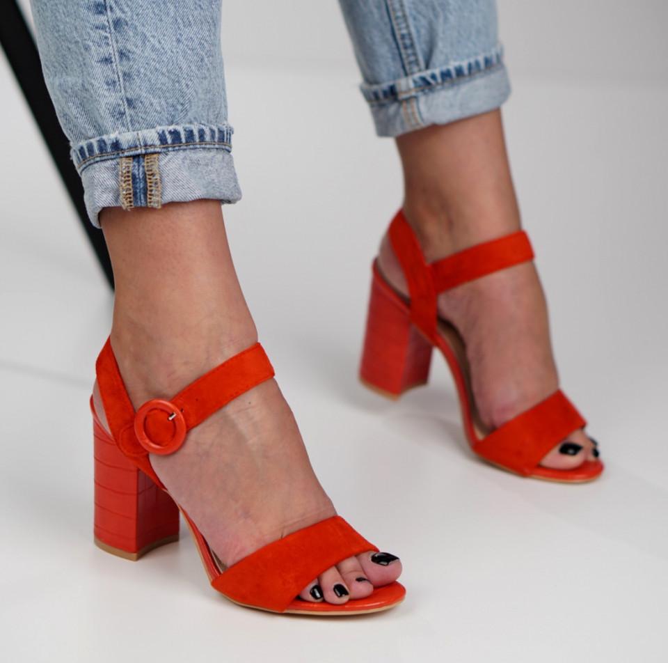 Sandale cu toc dama SB1291B