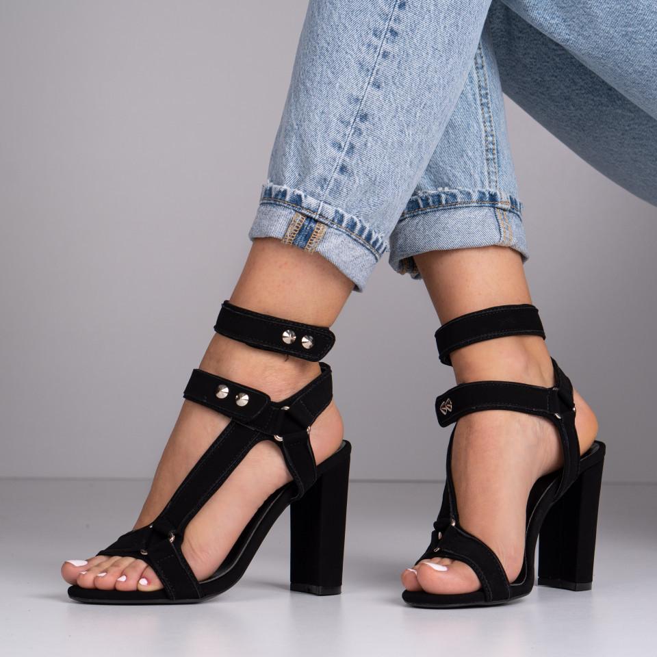 Sandale cu toc dama SB1391B