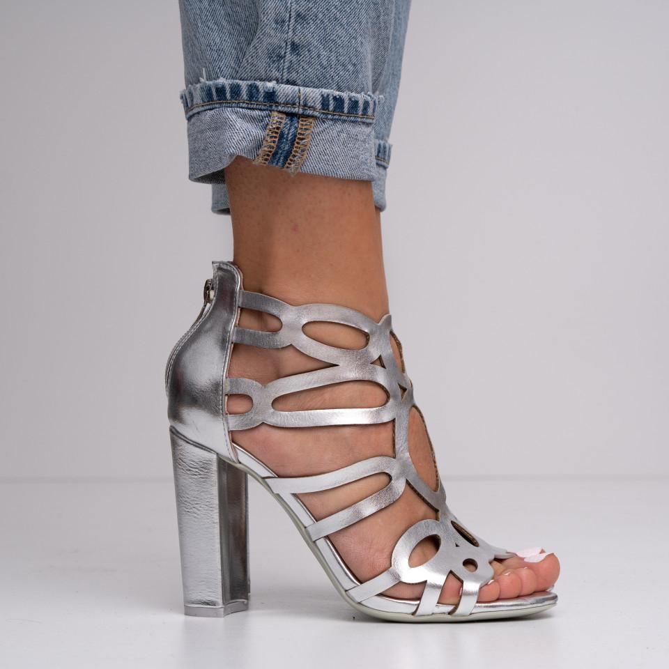 Sandale cu toc dama SB1394B