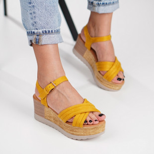 Sandale cu platforma dama SB1250B