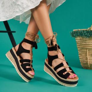 Sandale cu platforma dama SB1540B