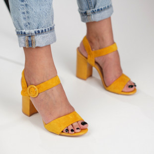 Sandale cu toc dama SB1287B