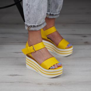 Sandale cu platforma dama SB1020B