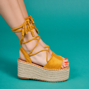Sandale cu platforma dama SB1630B
