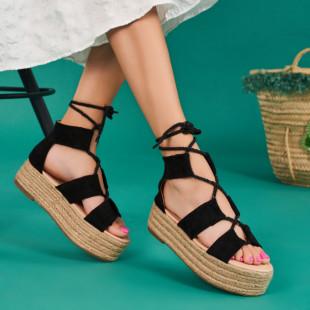 Sandale cu platforma dama SB1641B