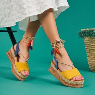 Sandale cu platforma dama SB1669B