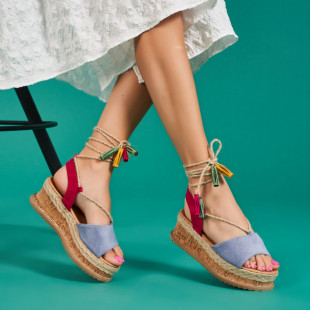 Sandale cu platforma dama SB1682B