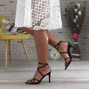 Sandale cu toc SB419D