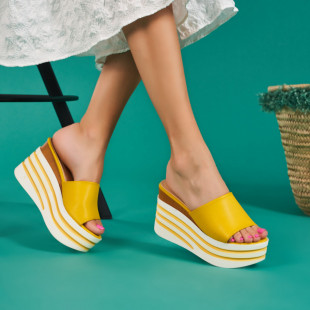 Papuci cu platforma dama SB1074B