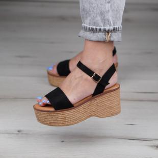 Sandale cu platforma dama SB1124B