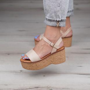 Sandale cu platforma dama SB1129B