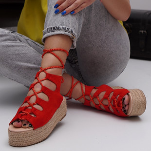 Sandale cu platforma dama SB1534B