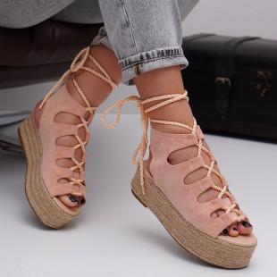 Sandale cu platforma dama SB1538B