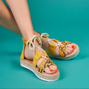 Sandale cu platforma dama SB1567B