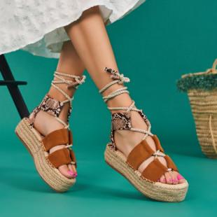 Sandale cu platforma dama SB1659B