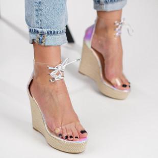 Sandale cu platforma dama SB1216B