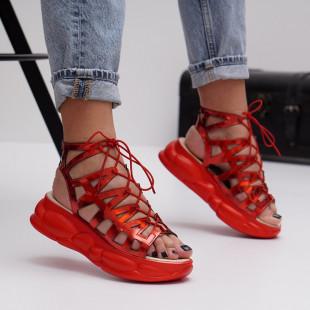 Sandale cu platforma dama SB1492B