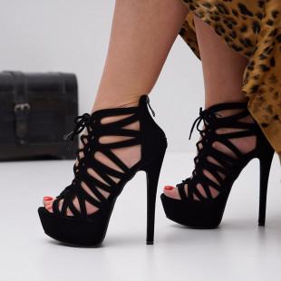 Sandale cu toc dama SB1442B
