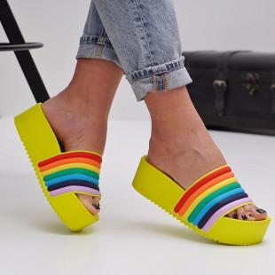 Papuci cu platforma dama SB1509B