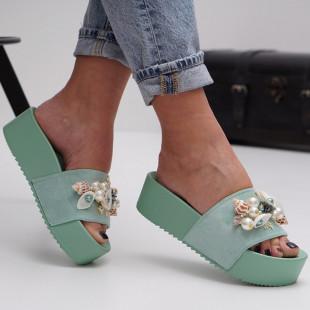 Papuci cu platforma dama SB1512B