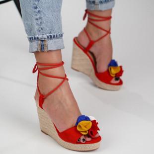 Sandale cu platforma dama SB1265B