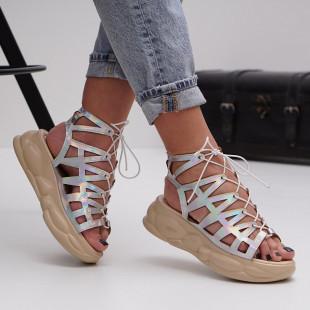 Sandale cu platforma dama SB1493B