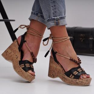 Sandale cu platforma dama SB1499B