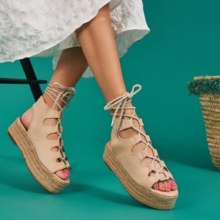 Sandale cu platforma dama SB1537B