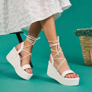 Sandale cu platforma dama SB1677B
