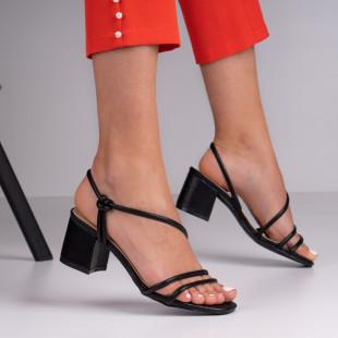 Sandale cu toc dama SB1382B