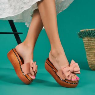Papuci cu platforma dama SB1066B