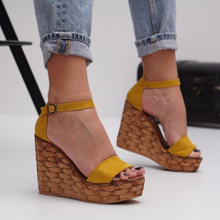 Sandale cu platforma dama SB1486B