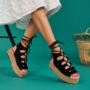 Sandale cu platforma dama SB1532B