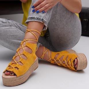 Sandale cu platforma dama SB1535B