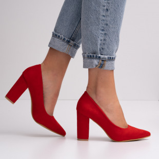 Pantofi cu toc dama SB1415B