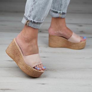 Papuci cu platforma dama SB1093B