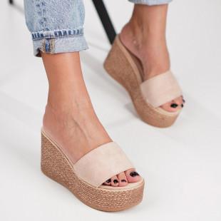 Papuci cu platforma dama SB1214B