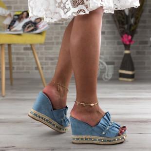 Papuci cu platforma SB413D