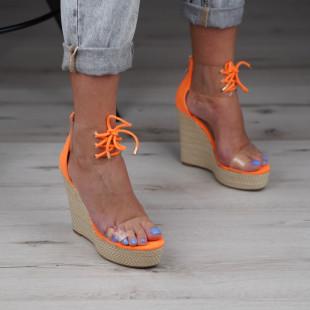 Sandale cu platforma dama SB1018B