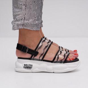 Sandale cu platforma dama SB1418B