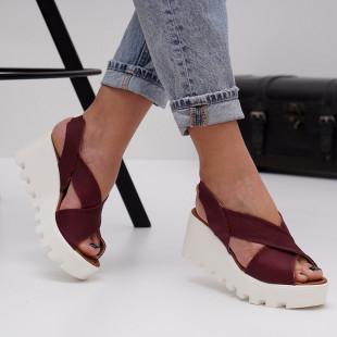 Sandale cu platforma dama SB1473B