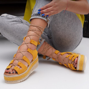 Sandale cu platforma dama SB1539B