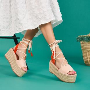 Sandale cu platforma dama SB1666B