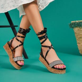 Sandale cu platforma dama SB1674B