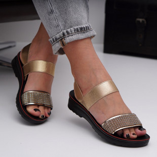 Sandale cu talpa joasa dama SB1557B