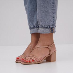 Sandale cu toc dama SB1437B